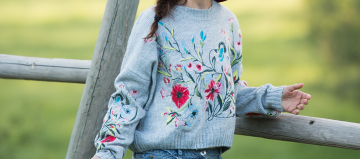 Baha Boutique Knitted Pullover