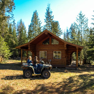 The family cabin and our transportation